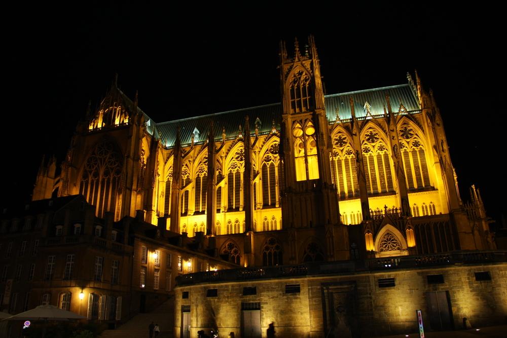 Cathédrale de Metz été 2009