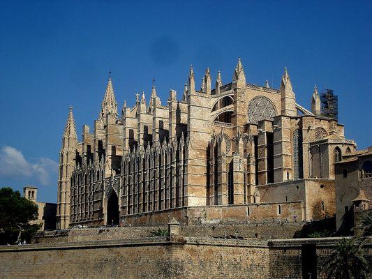 cathédrale de palma de majorque