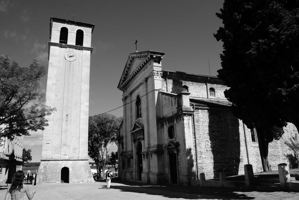 Cathédrale de Pula ( Croatie).