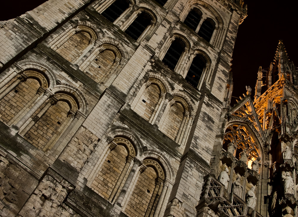 Cathédrale de Rouen By Night