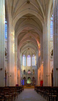 Cathédrale de Senlis en HDR