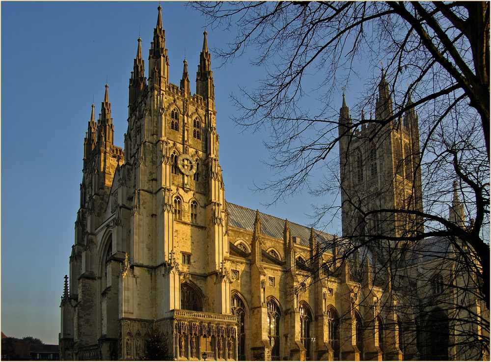 Cathedrale in Canterbury / England