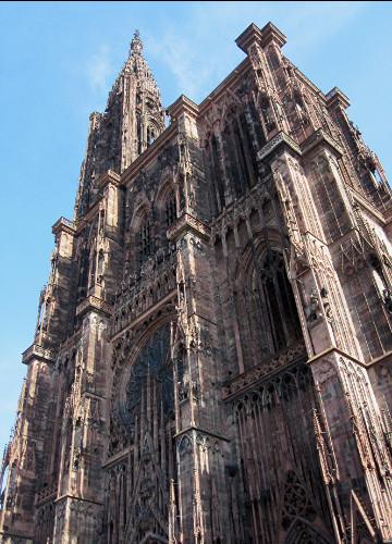 Cathédrale Notre-Dame-de-Strasbourg...
