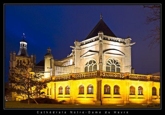 Cathédrale Notre-Dame du Havre (arrière)