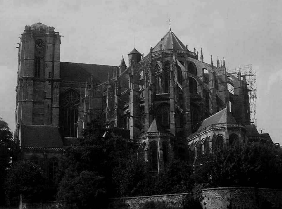 Cathédrale Saint Julien in Le Mans