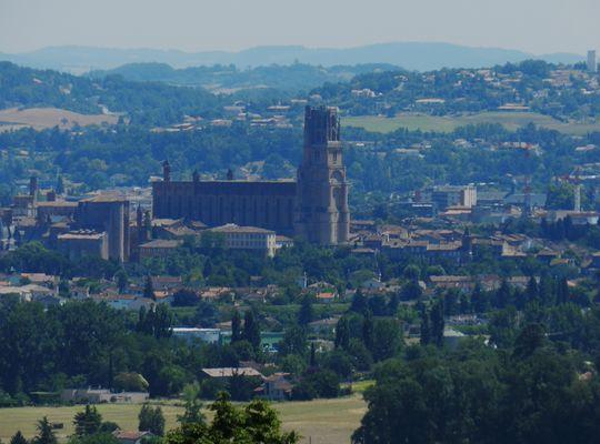 cathédrale sainte cécile, à Albi !!