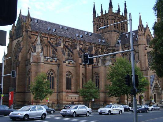 Cathedrale Sainte-Marie a Sydney