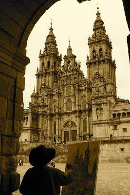 Cathedrale Santiago de Compostella