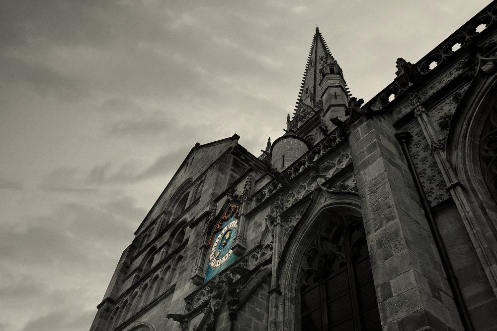 Cathédrale St lazard à AUTUN