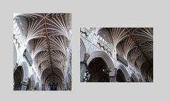 Cattedrale di Exeter ....scorci di interno.....