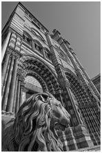 Cattedrale di San Lorenzo Genova - Prospettiva verticale