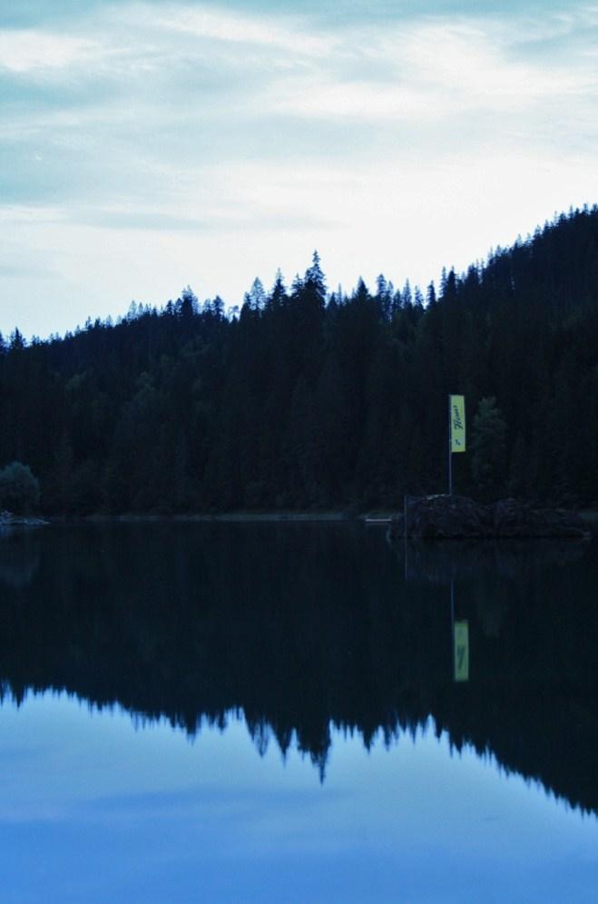 Caumasee bei Nacht