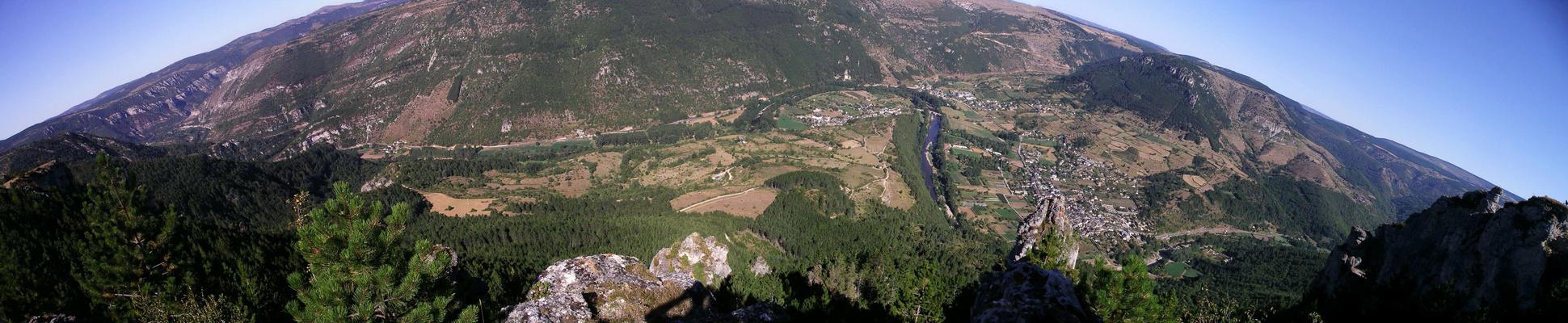 causses et gorges du Tarn - panoramique