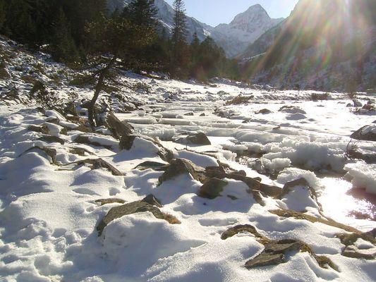 cauteret sous la neiges