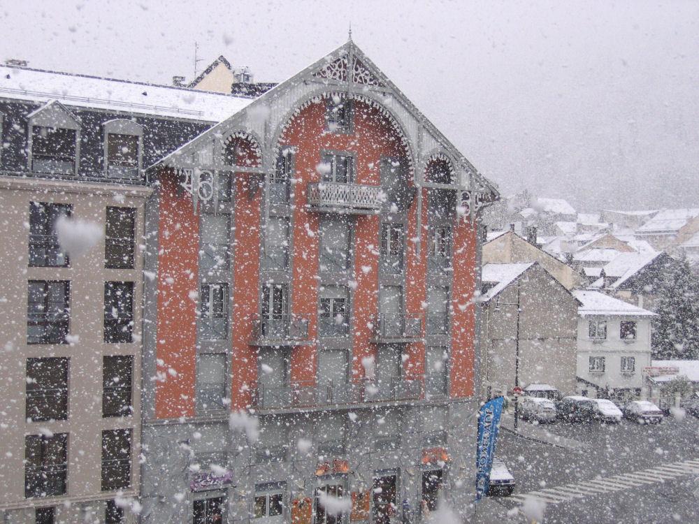 Cauterets - Chutes de neige