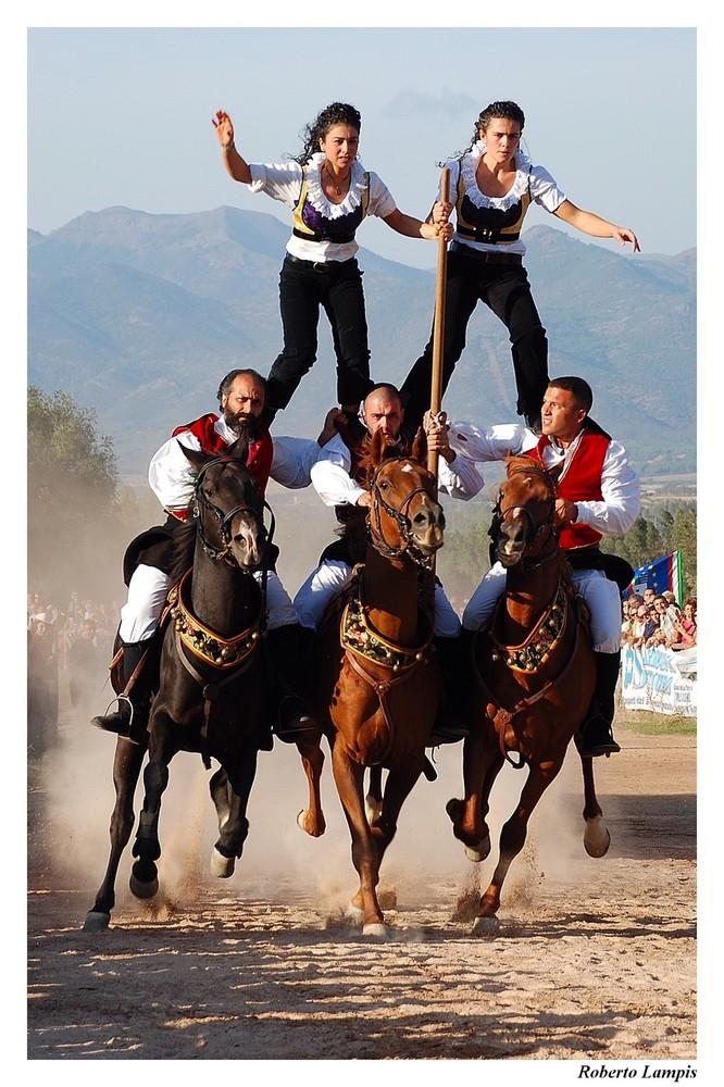 Cavalli, Cavalieri e Dame