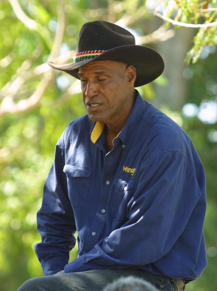 Cayman Cowboy in Uniform