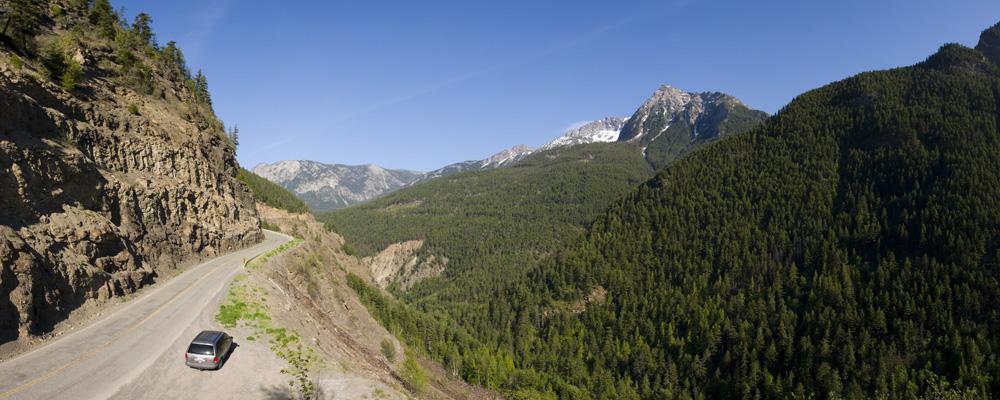 Cayoosh Creek Valley