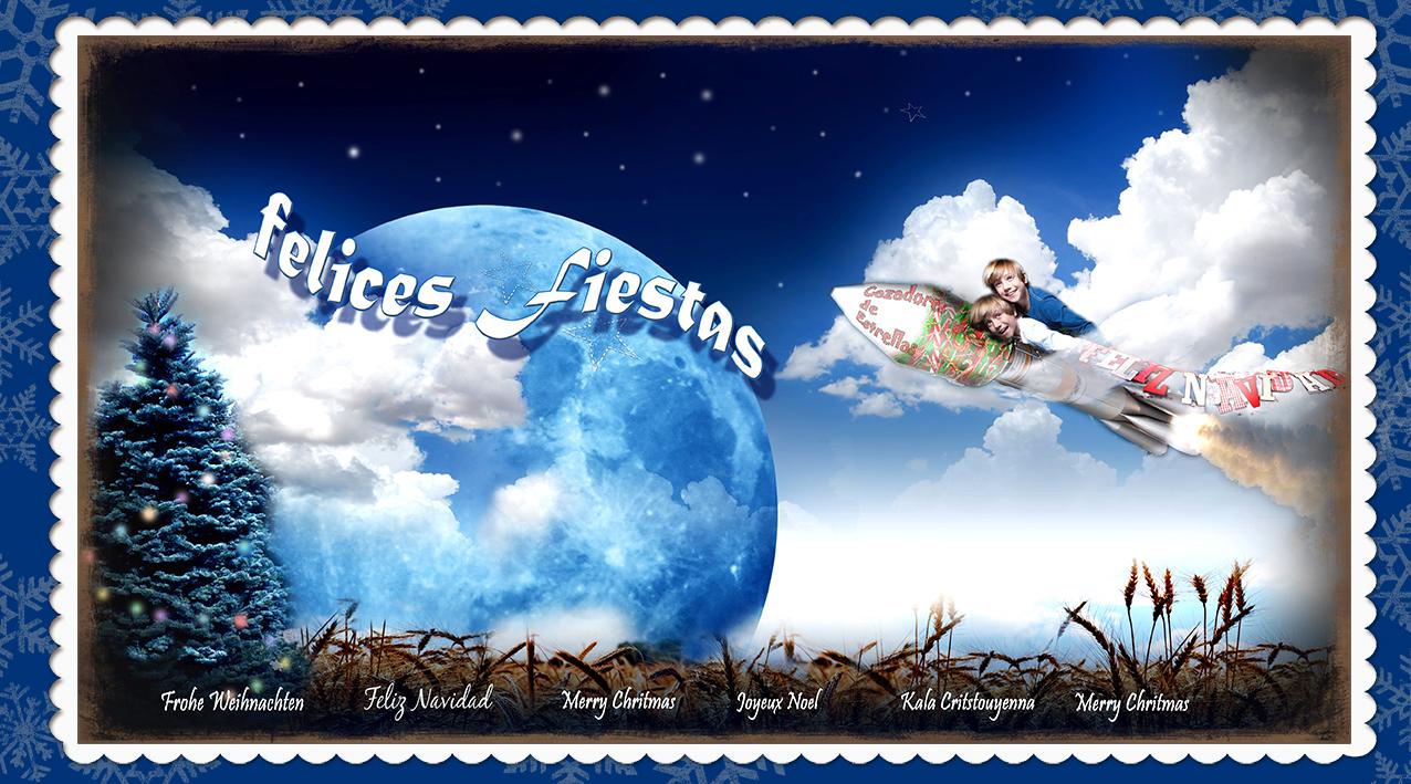 Cazando estrellas para Navidad