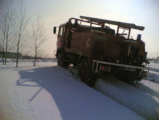 CCF dans la neige