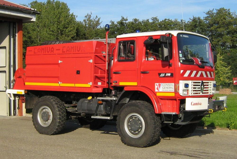 CCM der Feuerwehr Wörth-Frankreich