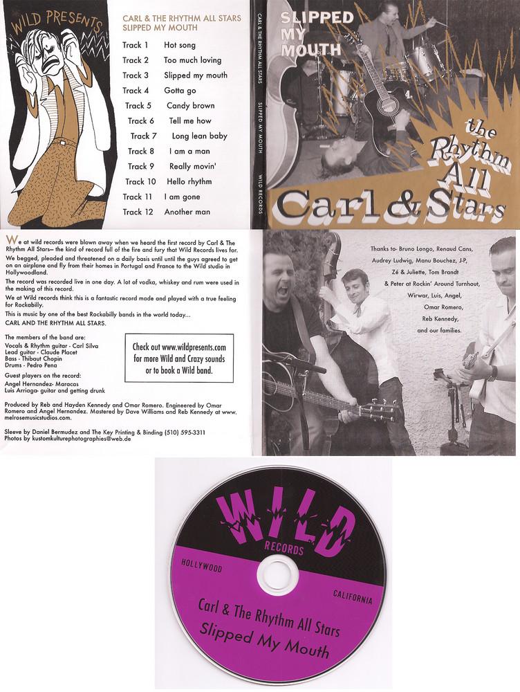 "CD Cover - ""Carl & The Rhythm All Stars"""