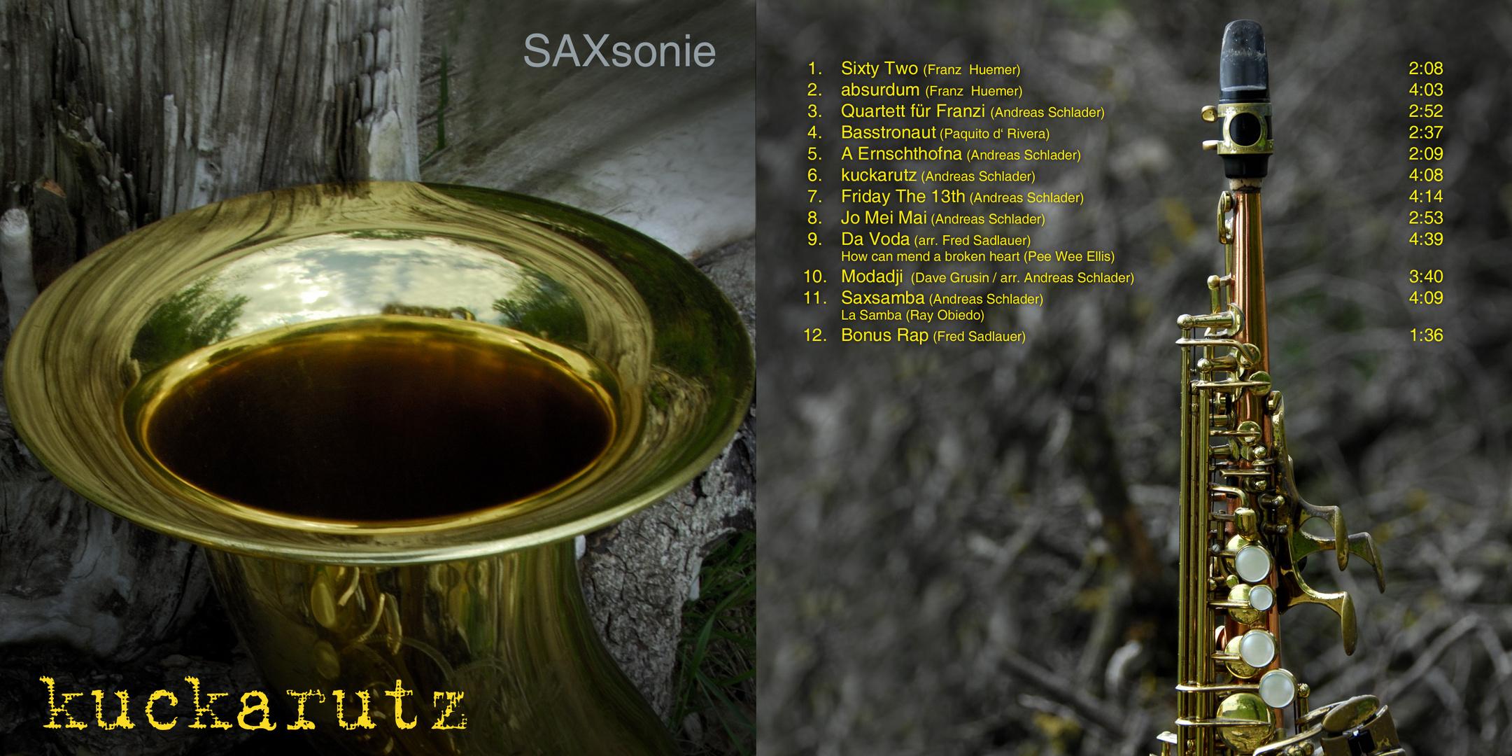 CD Cover SaxSonie
