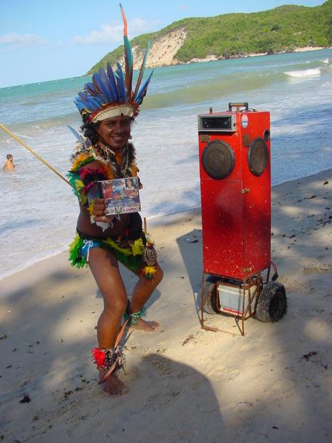 CD. Verkäufer am Strand.
