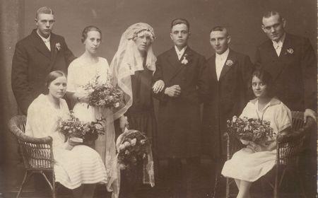 Nostalgische Hochzeitsfotos
