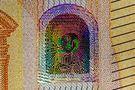 Hologramm auf dem 50-Euro-Schein von ReDe