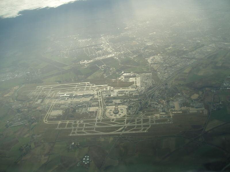 CDG airport of Paris