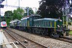 Ce 6/8 III 14305 & Re 4/4 I 10001