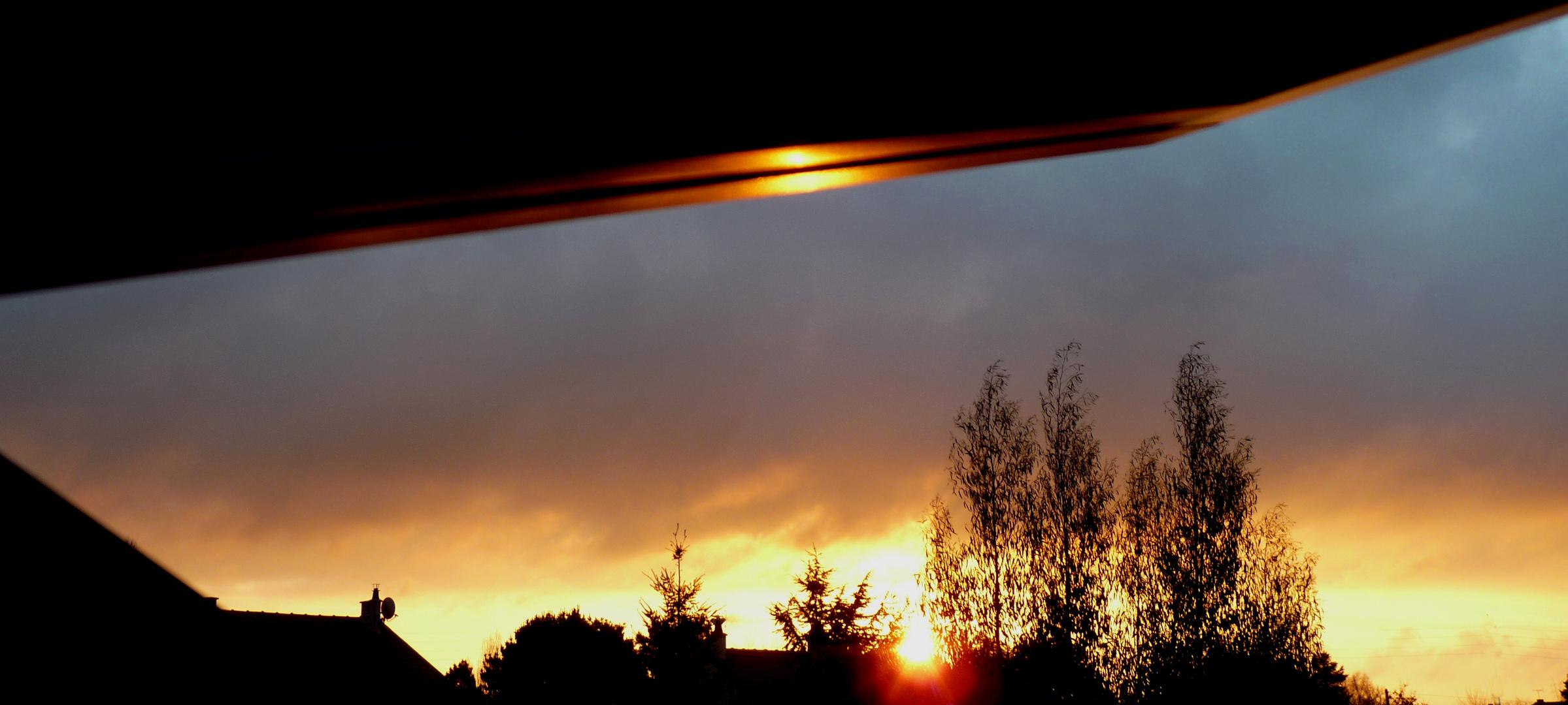 Ce matin, par-dessus les toits.