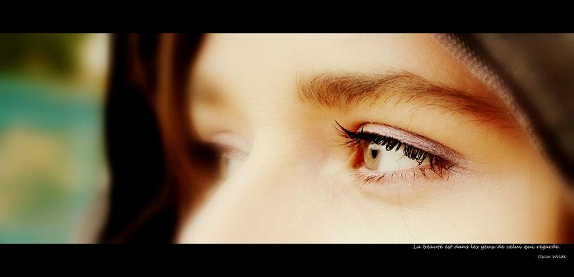 « Ce que les yeux voient est sûr, les paroles que l'on rapporte ne sont pas forcément vraies. »