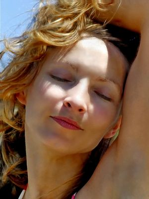 Cécile Poupard face portrait