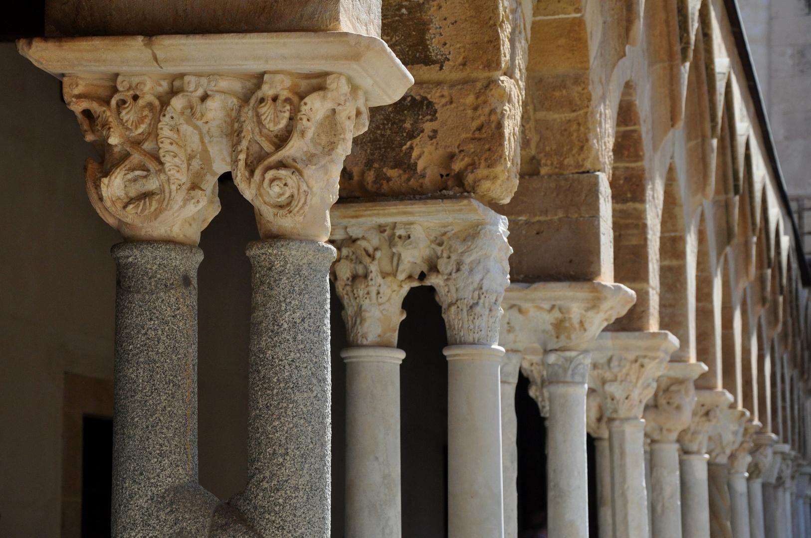 Cefelù / Kreuzgang der Kathedrale