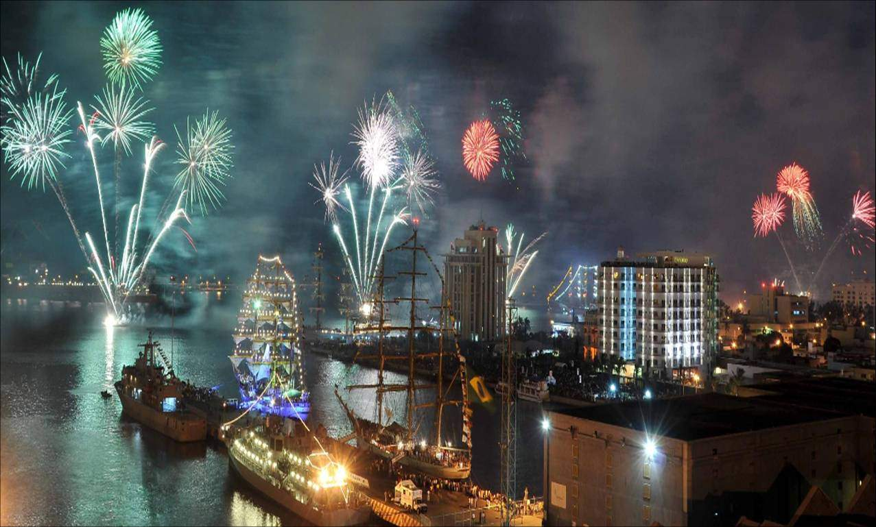 Celebración de la regata del Bicentenario
