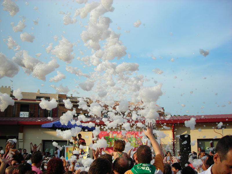 celebration of the foam