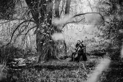 Cello in der Natur