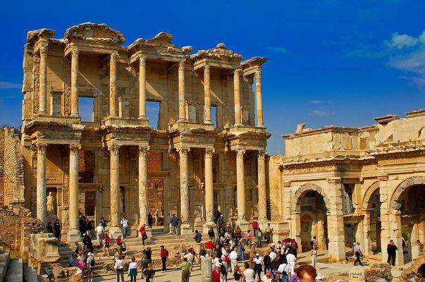 Celsus Bibliothek, Ephesus, Türkei