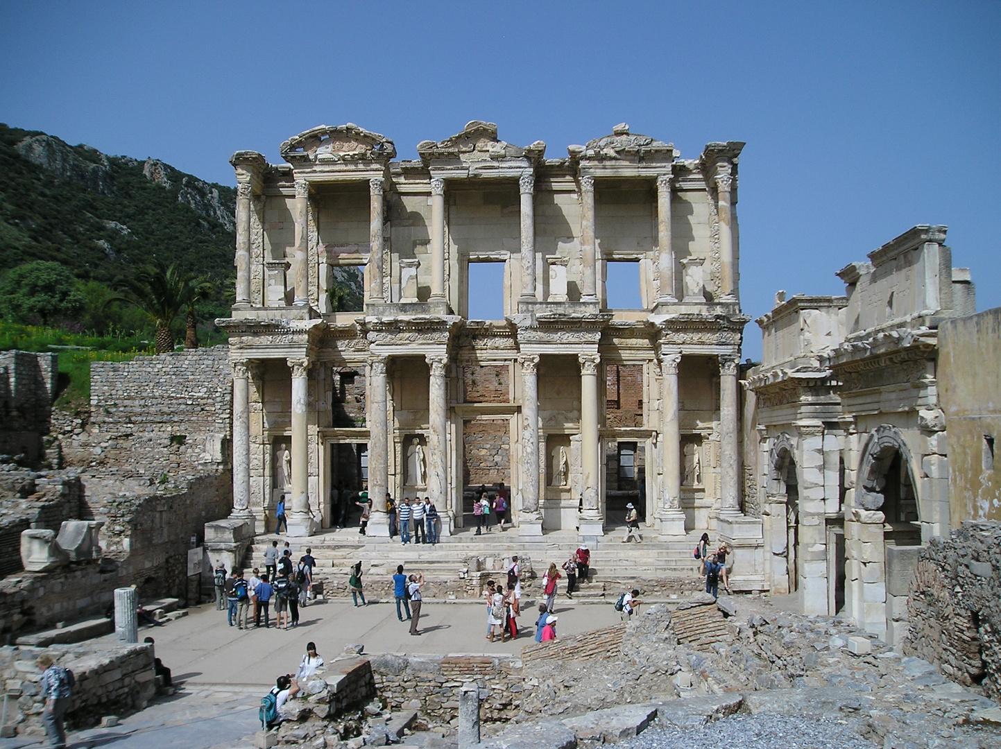 Celsusbibliothek in Ephesus