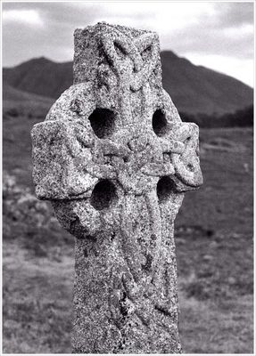 Celtic Cross in the Highlands
