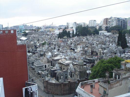 cementerio de la Recoleta Buenos Aires Argentina