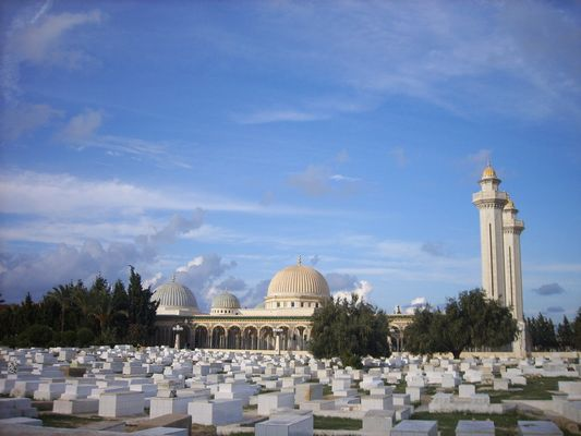 Cemetery of Monastir with the Mosquea
