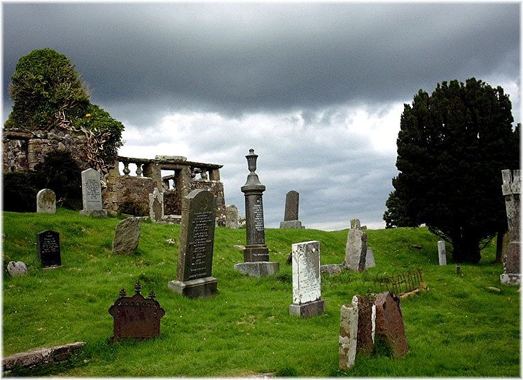 Cemetery on the Isle of Skye
