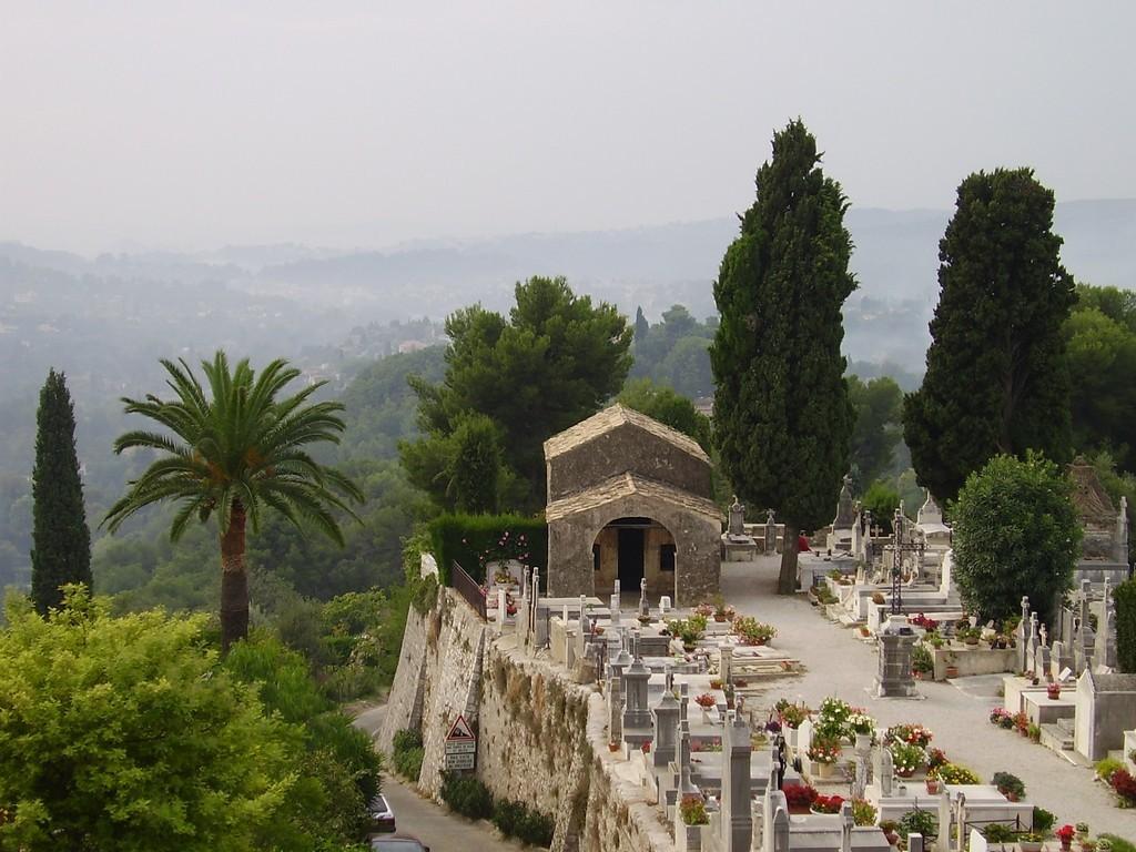 cemetery - st. paul de vence