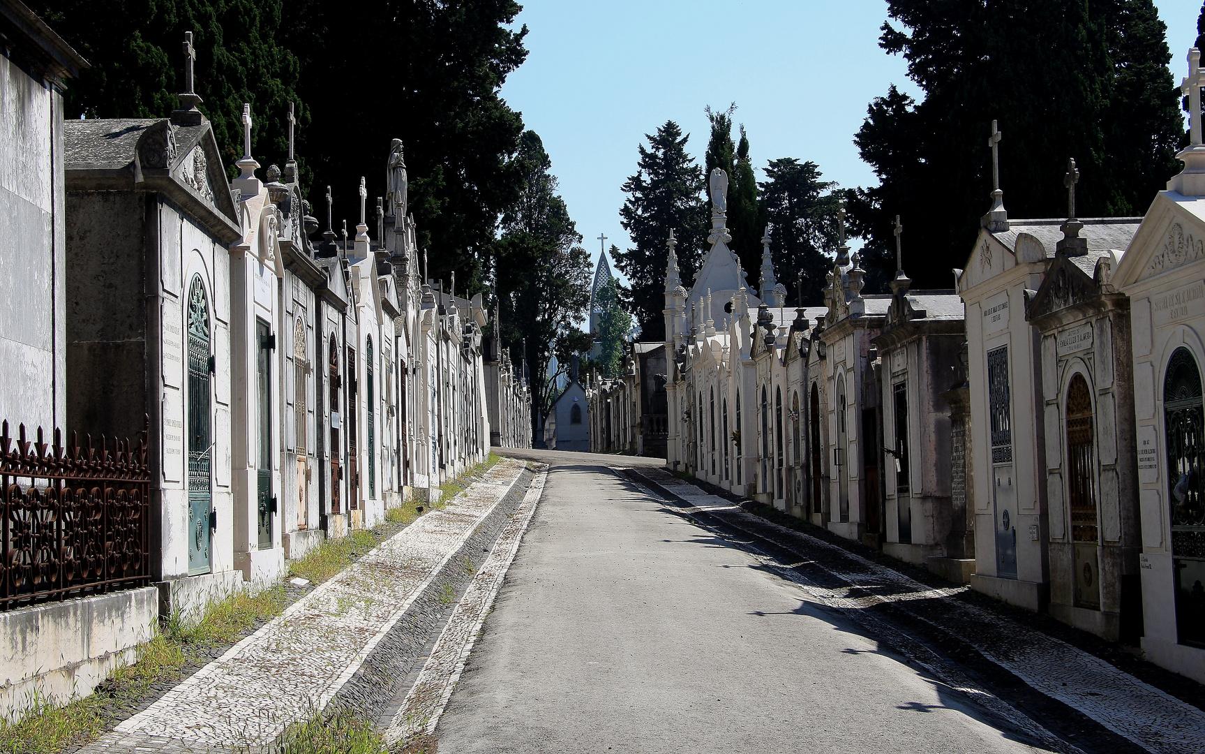Cemitèrio dos Prazeres - Lissabon I