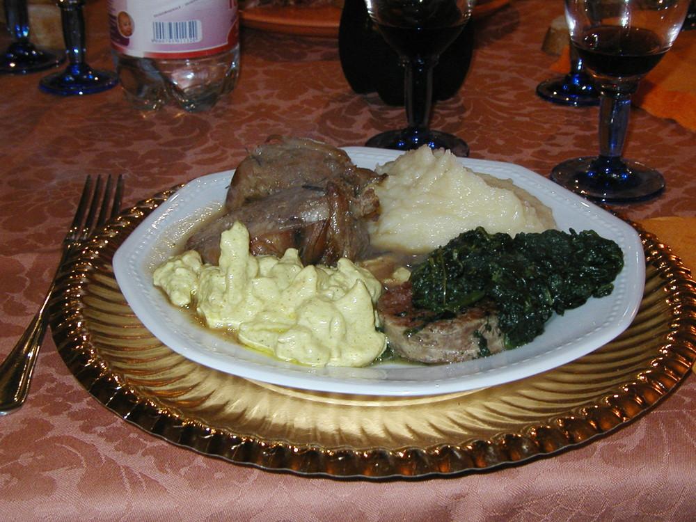 cena dell'ultimo dell'anno