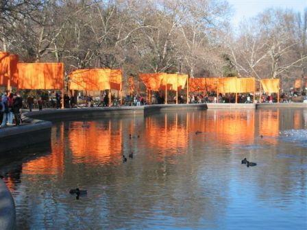 Central Park am Morgen