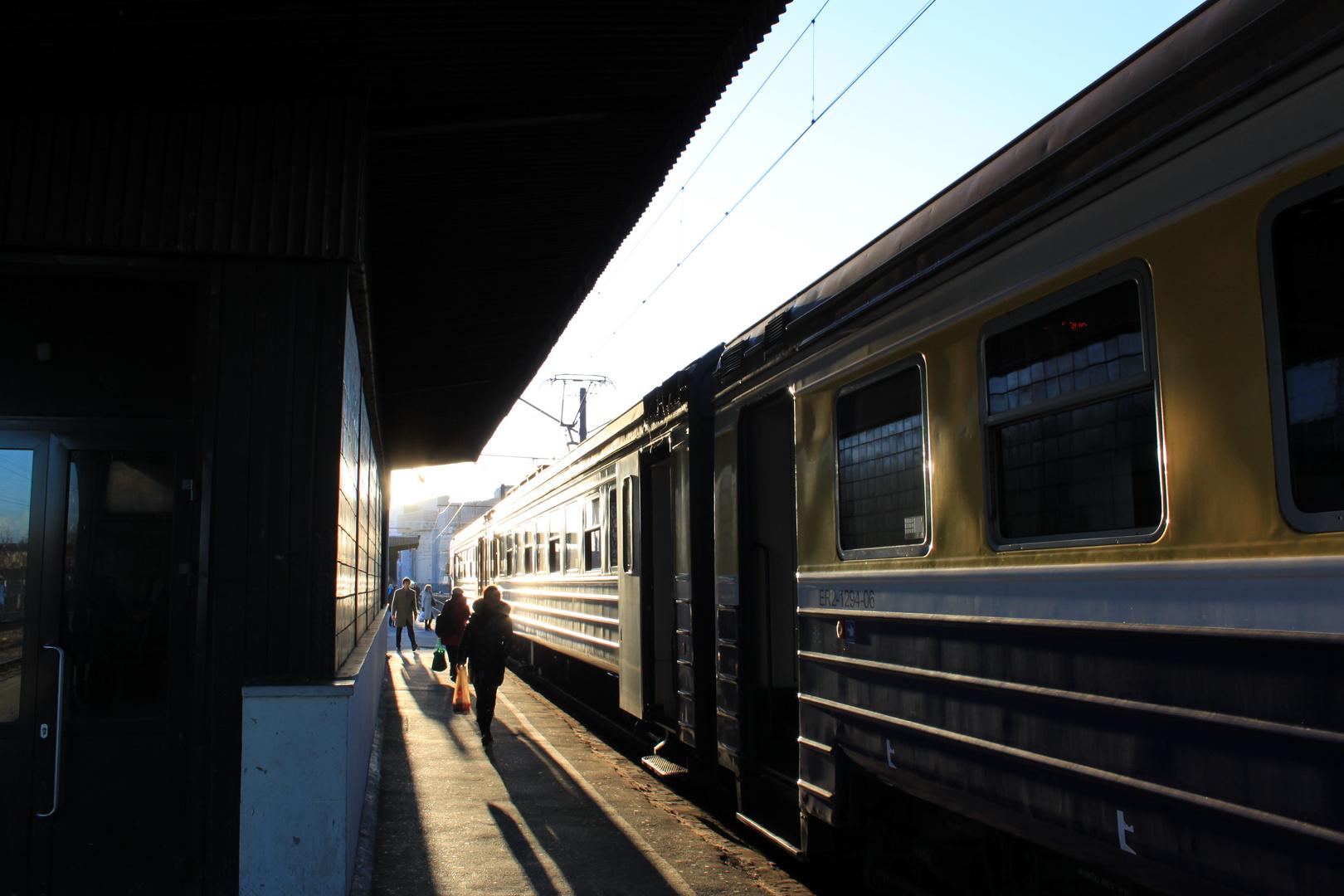 Central Station Riga / Hauptbahnhof Riga